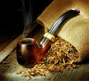 Dýmka s tabákem